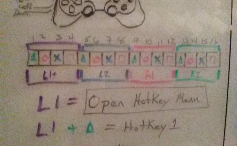 Waking up with a(game controller hotkey mapping)idea: